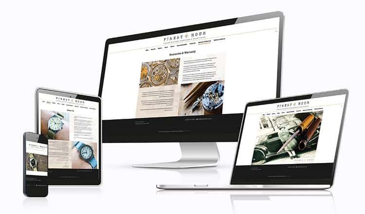 WordPress Bespoke Responsive Website Design