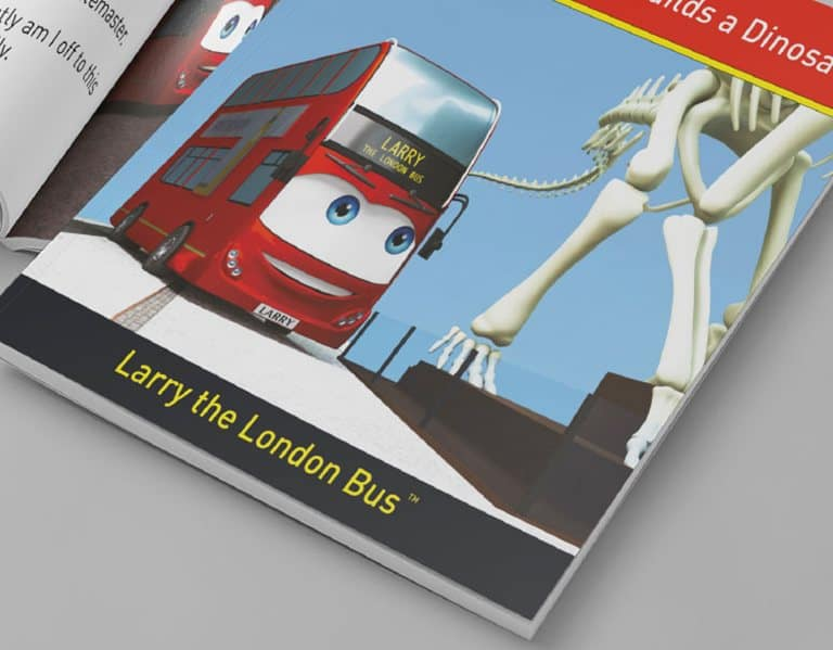 Larry the London bus childrens books