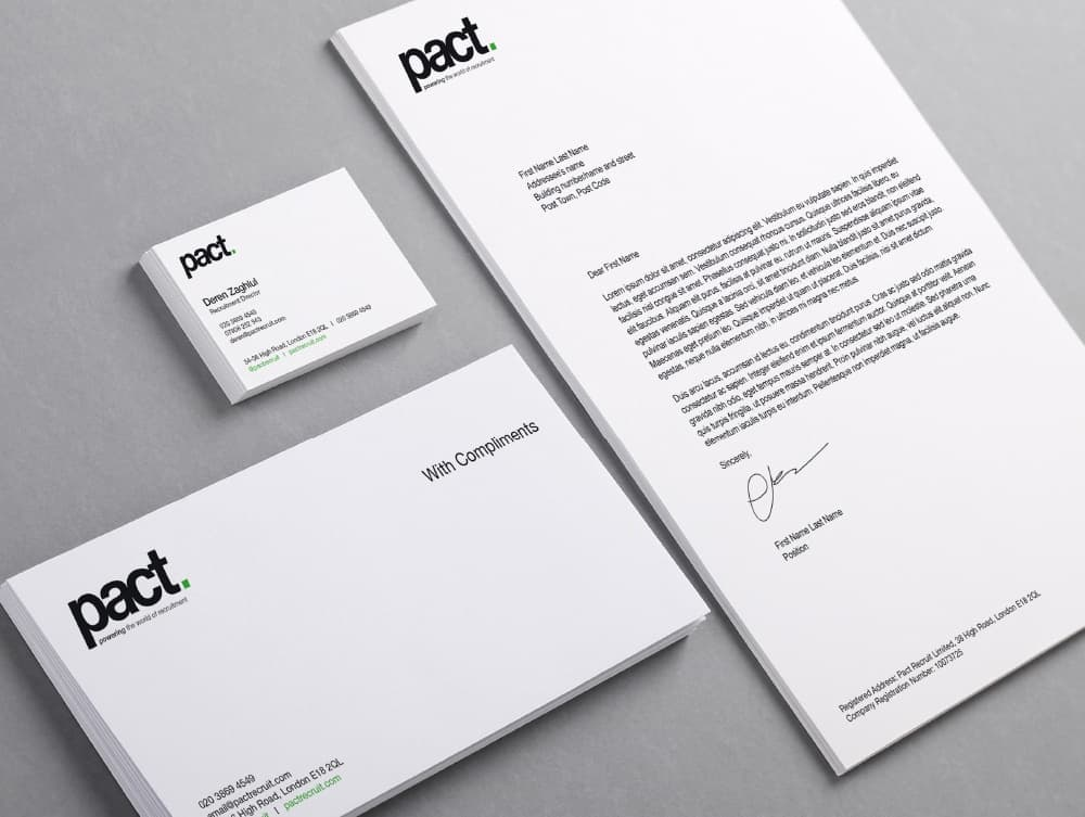 Stationary Design and Print