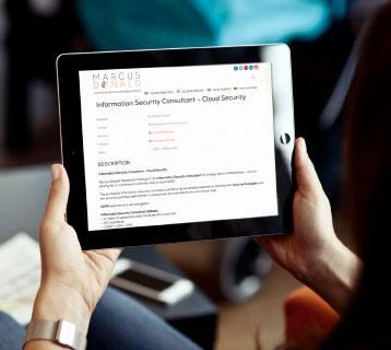 responsive website design for ipad marcus donald